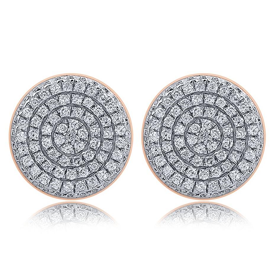 18ct Rose Gold, 0.34ct Diamond Earring