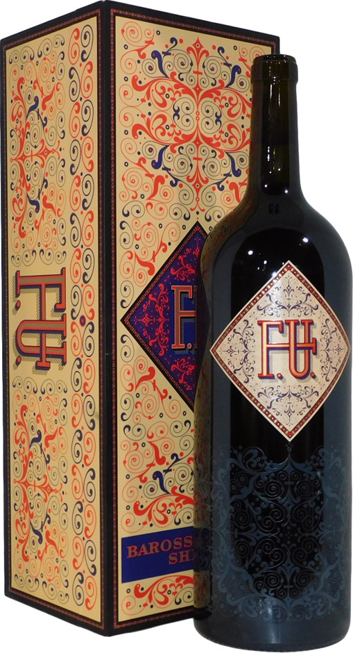 R Wine FU Shiraz 2006 (1x 1.5L), Barossa Valley, SA. Cork