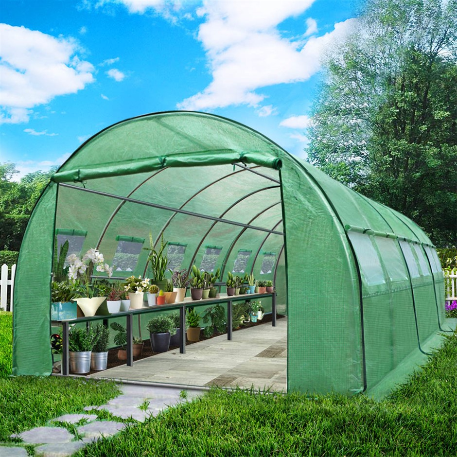 Greenfingers house 6MX3M Garden Shed House Storage Tunnel Plant Grow