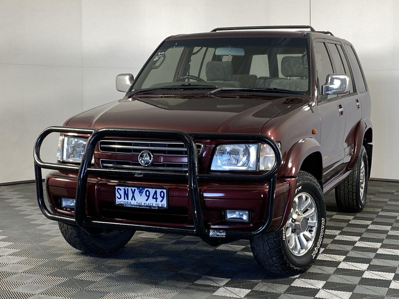 2003 Holden Jackaroo SE LWB (4x4) Automatic 7 Seats Wagon
