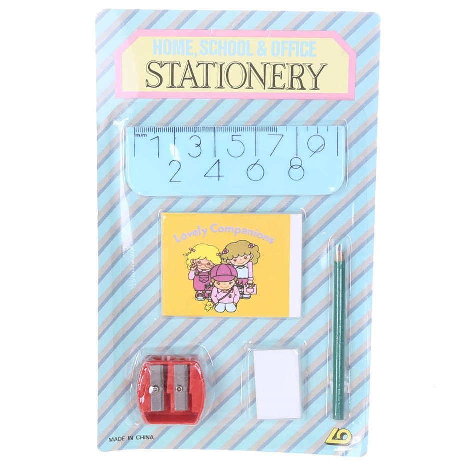 Approx. 48 x Home School & Office Stationery Sets, Incl; Rulers, Eraser, Pa