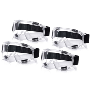 4X Clear Protective Eye Glasses Safety W