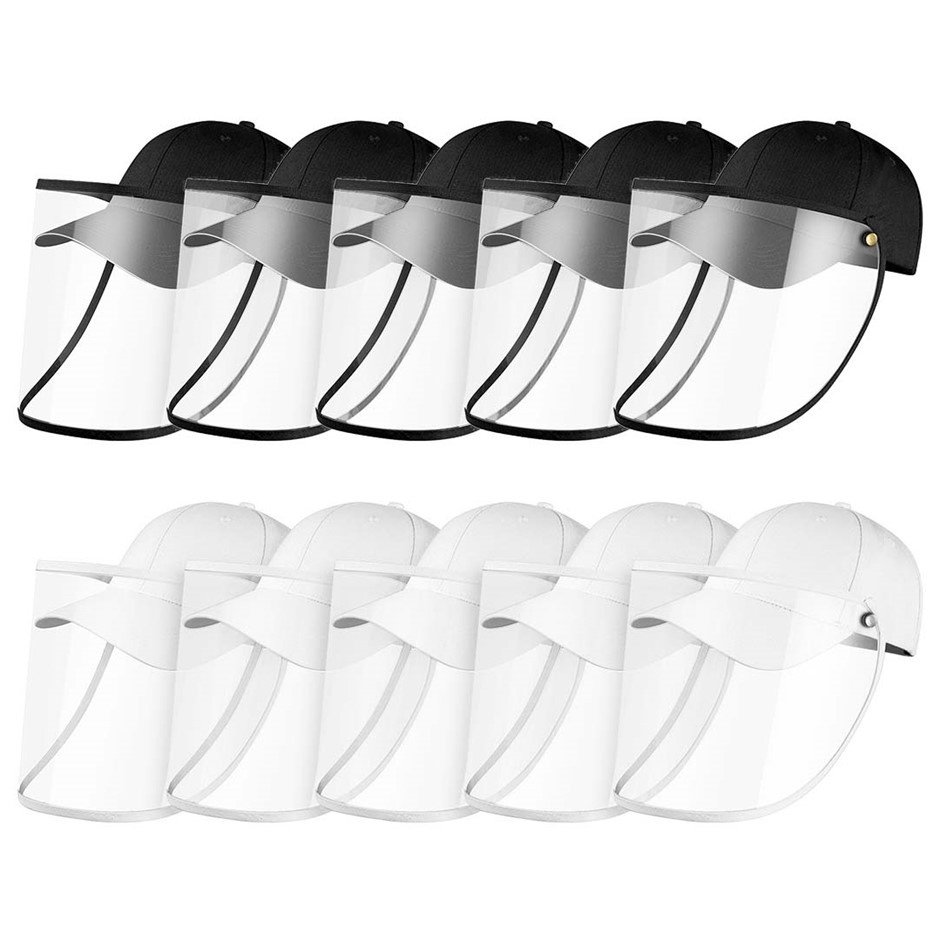 10X Outdoor Protection Hat Anti-Fog Pollution Protective Full Face Shield