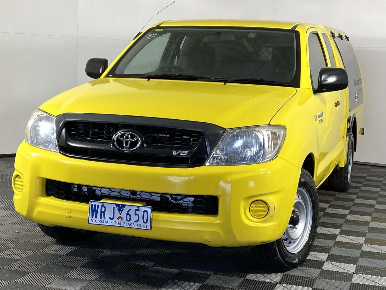 2008 Toyota Hilux XTRA CAB 4X2 SR GGN15R Auto Ute (EX RACV)