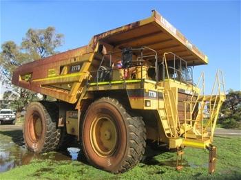 1997 Caterpillar 777D Rigid Dump Truck