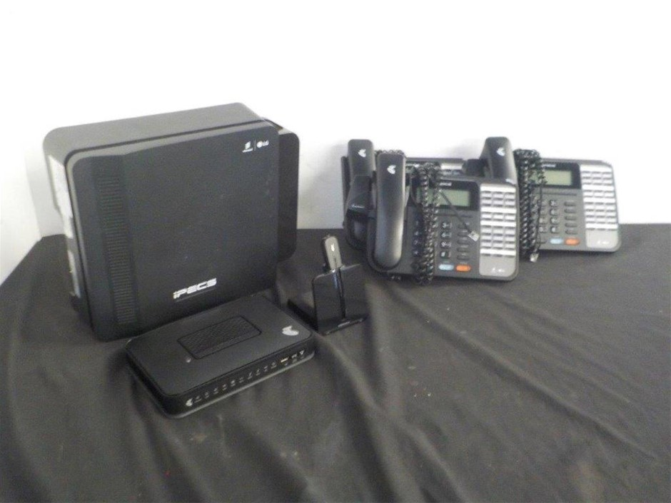 Ericsson / LG iPECS eMG80 Phone System & Handsets