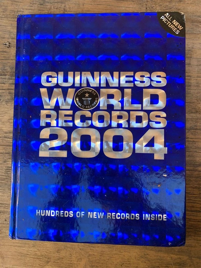 Book, Non-Fiction, Encyclopedia, Guinness World Records 2004