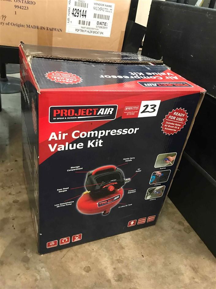 Project Air Electric Air Compressor