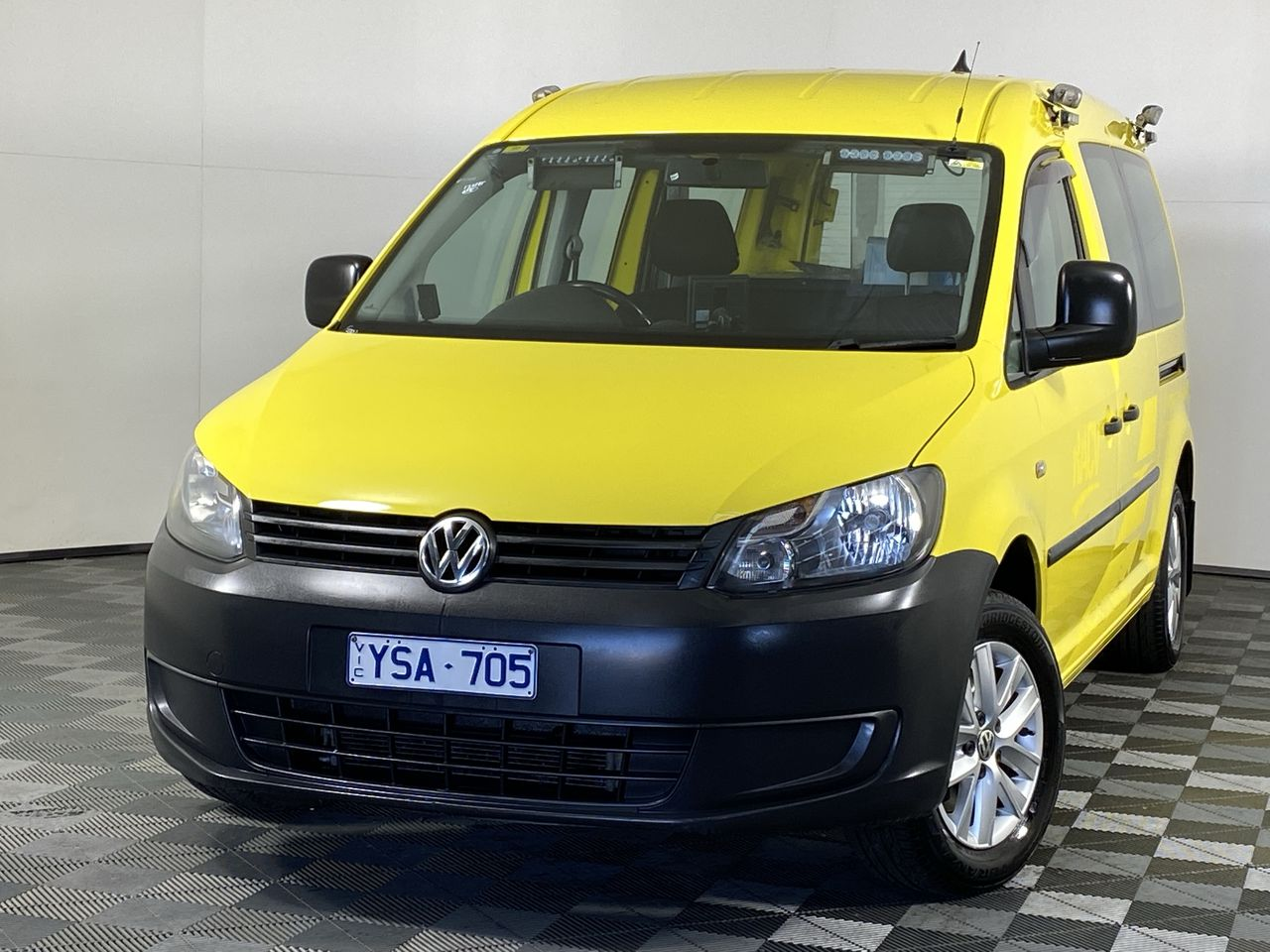 2011 Volkswagen Caddy TDI250 MAXI Turbo Diesel Auto Van (EX RACV)