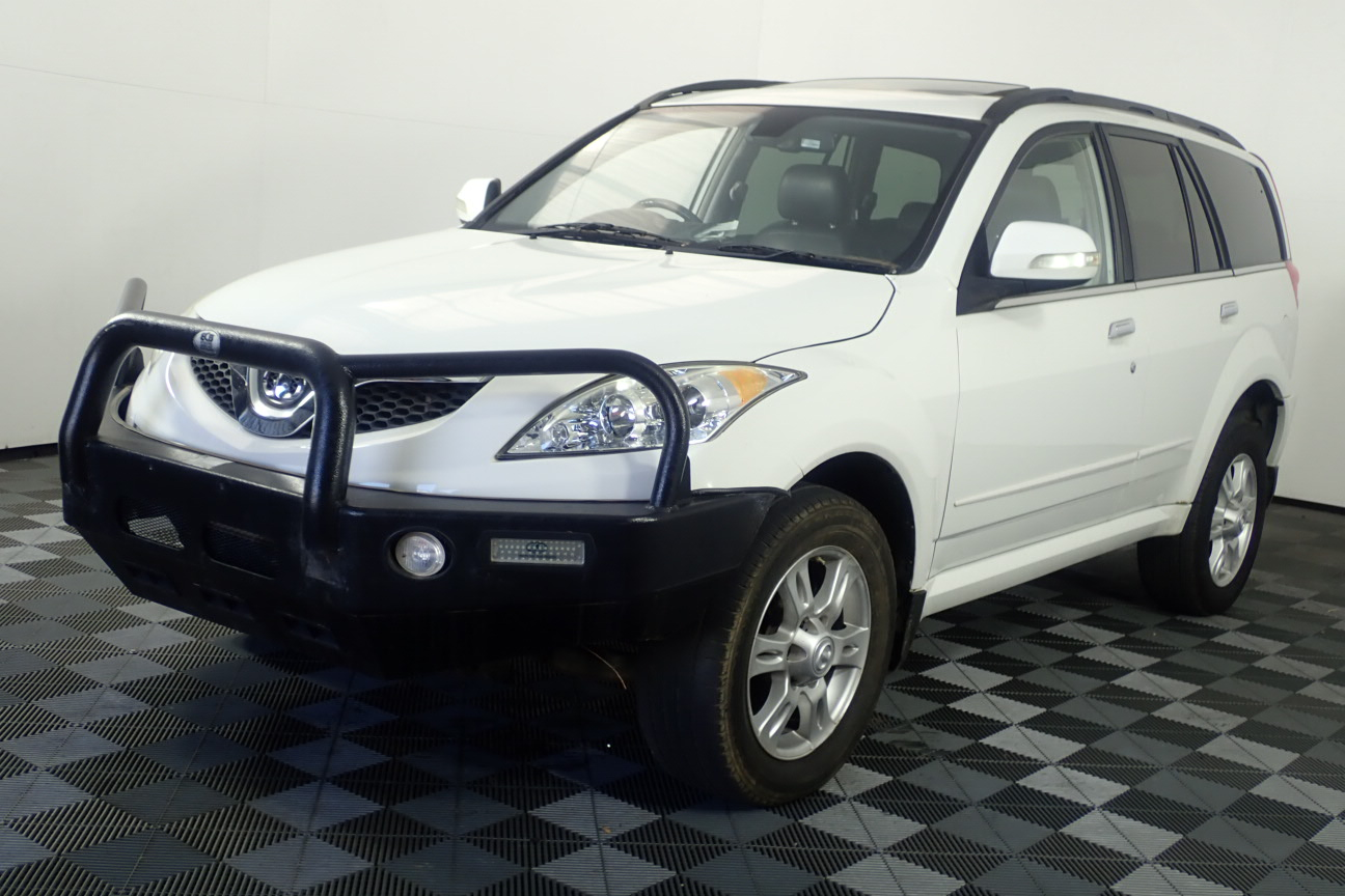 2013 Great Wall X200 4X4 Turbo Diesel Automatic Wagon (WOVR-REPAIRABLE)