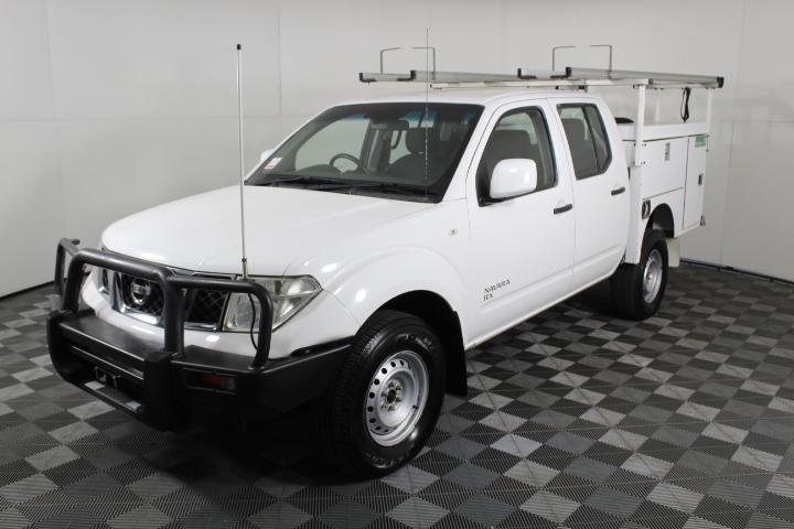 2012 Nissan Navara 4X4 RX D40 Turbo Diesel Automatic Dual Cab