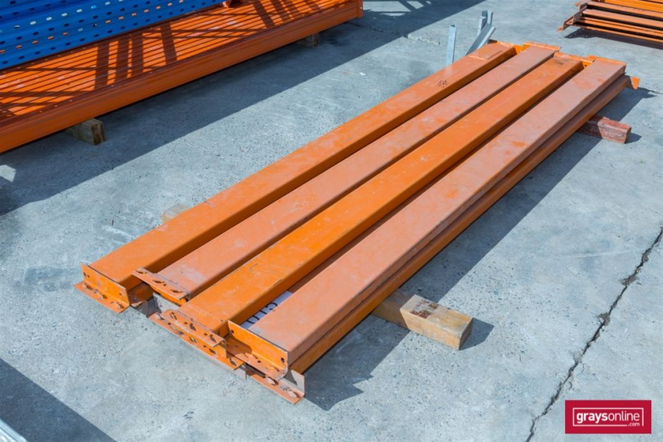 Qty 8 x Dexion style Pallet Racking Load Beams