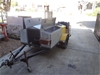 Trailer Mounted Pressure Washer (used unit)