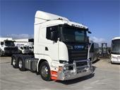 2014 Scania Prime Mover Trucks