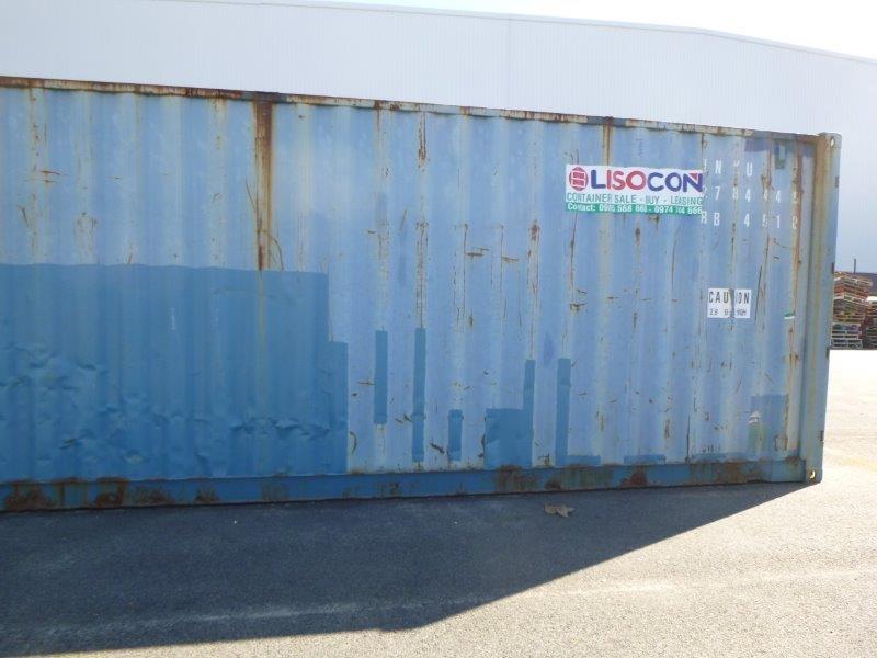 1 x 40 Foot x 9 1/2 Foot Hi-Cube Container