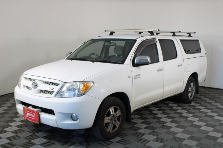2007 Toyota Hilux SR5 GGN15R Manual Dual Cab