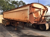 Road West Transport Triaxle Tipper Trailer & Triaxle Dolly