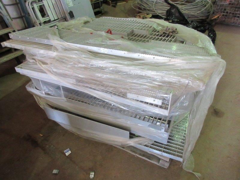 Quantity of Aluminium Walkway Crates