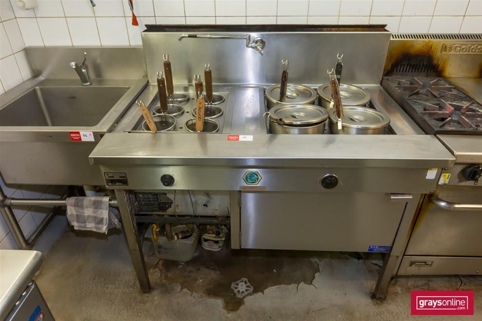 2010 Commercial Kitchen Appliances 200 Series Noodle Boiler / Pasta Cooker