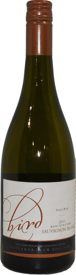 Steve Bird Vineyards Marlborough Sauvignon Blanc 2011 (6x 750mL), NZ