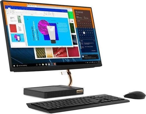 Lenovo IdeaCentre A540-24API 23.8-inch All-in-One PC, Black