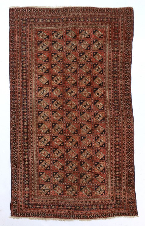 Handmade Pure Wool Antique Russian Hersay - Size : 100 x 170cm