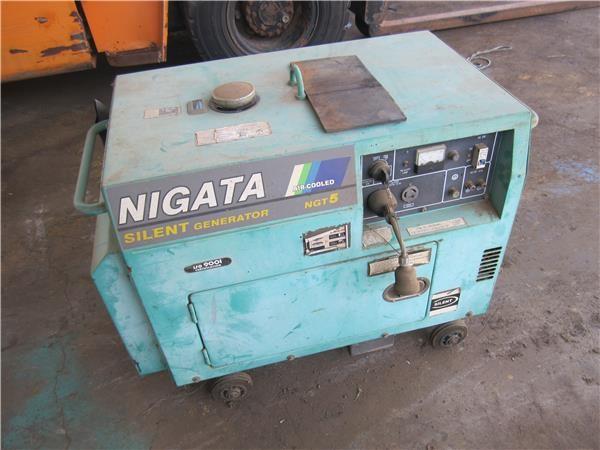 Generator, Nigata, 5 kva