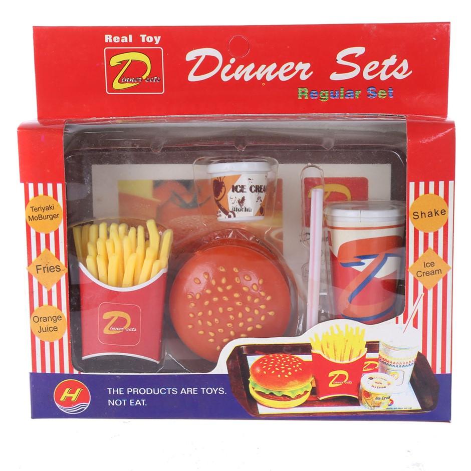 10 x Toy Dinner Sets. (SN:ZFG00022-K10) (273769-189)