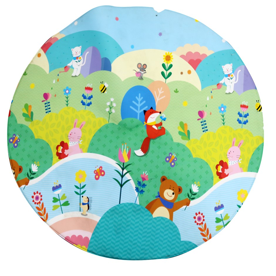 SIGNATURE Extra Thick Baby Kids Play Mat, 135cm N.B. Some torn edges. (SN:C