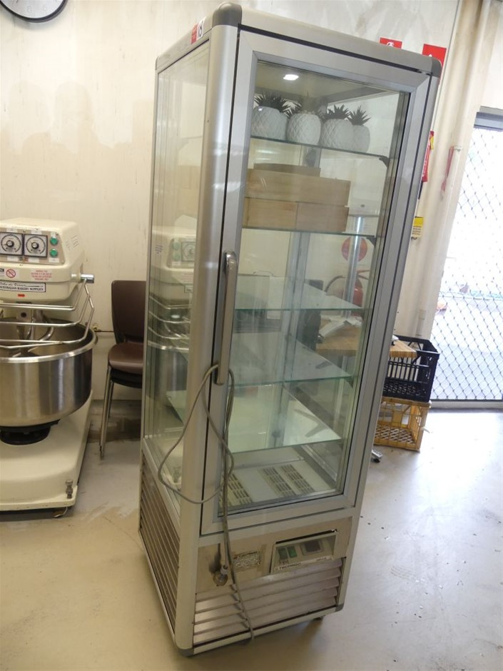 Tecfrigo SNELLE 350 G/Q Glass cake display fridge