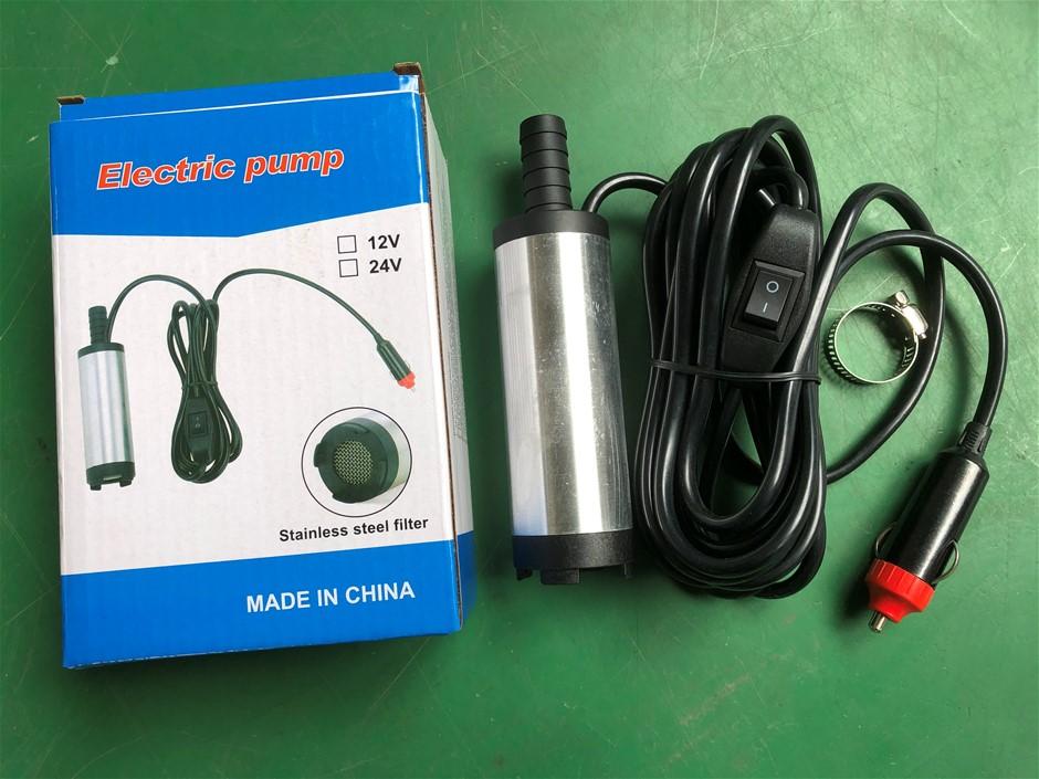 Electric Diesel Pump (Pump Diameter: 3.8cm)