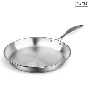 SOGA S/S Fry Pan 24cm Frying Pan Top Gra