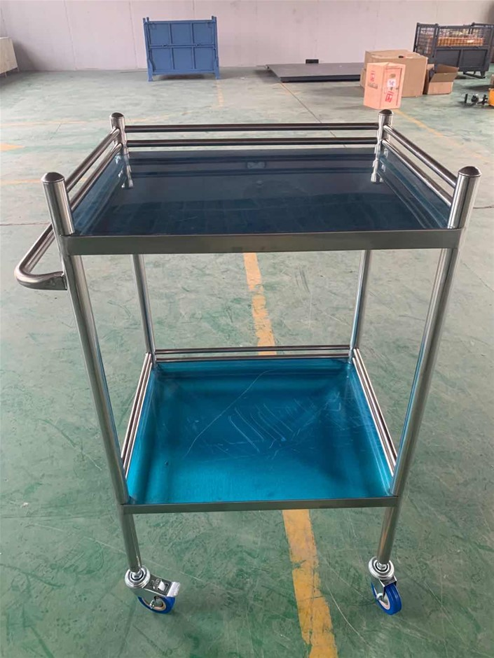 Stainless Steel Trolley Cart 2 Tier (Small)