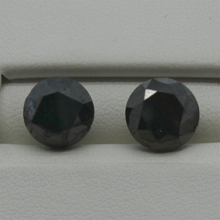 Two Loose Diamond, 4.60ct in Total