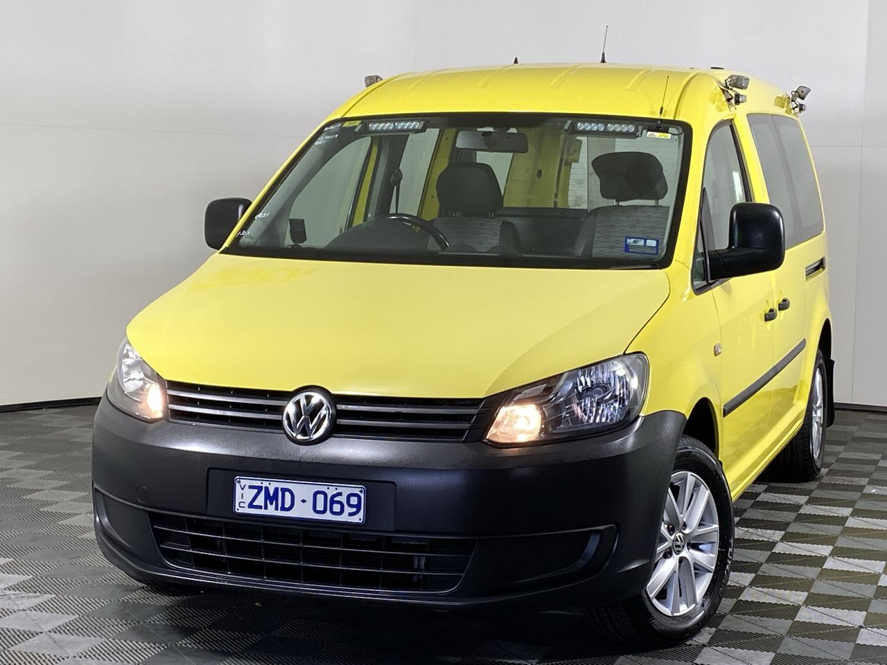 2012 Volkswagen Caddy TDI250 MAXI T/D Auto Van (EX RACV)
