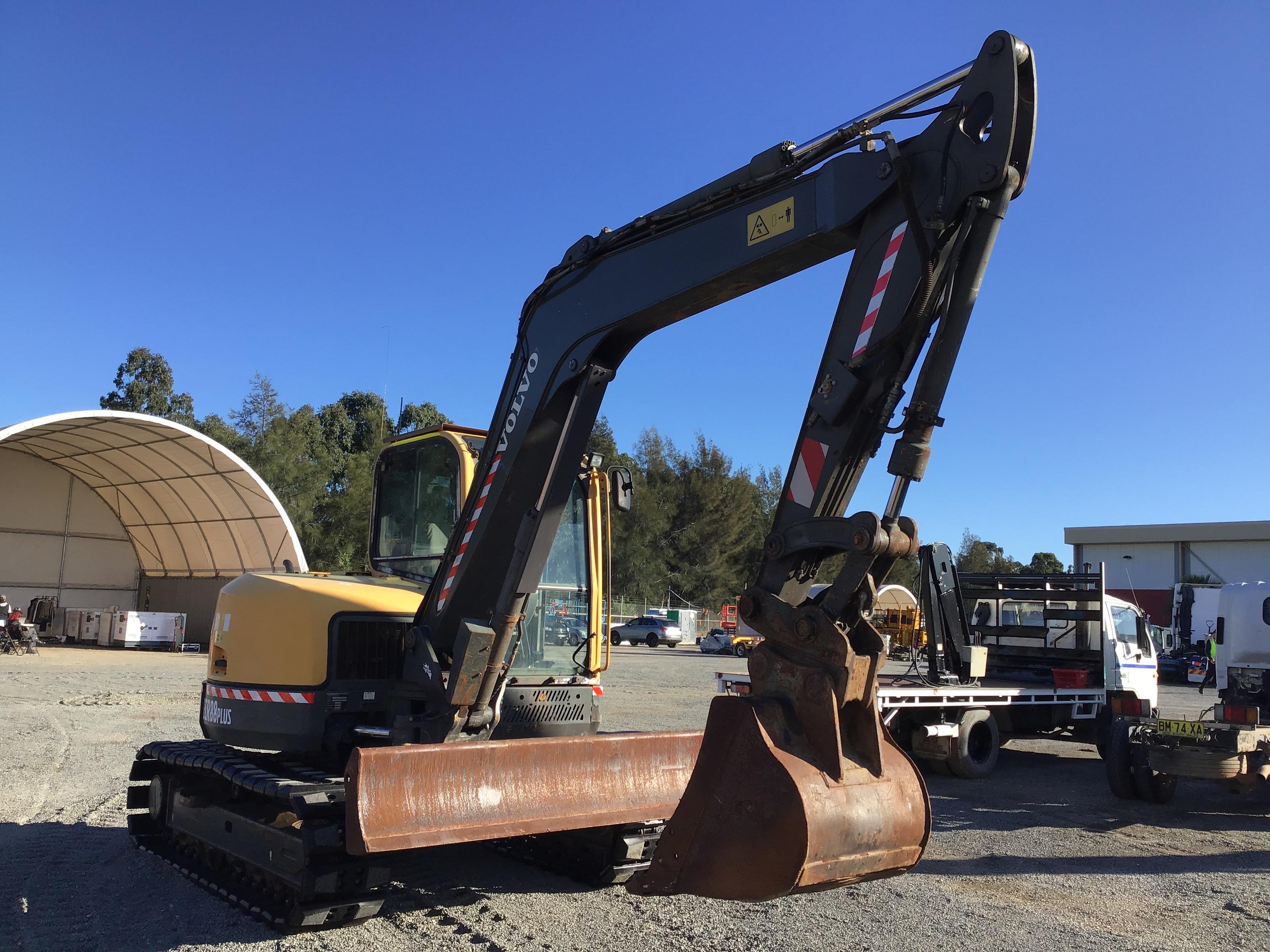 2012 Volvo ECR88 Plus Excavator