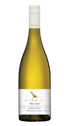 Wolf Blass White Label Chardonnay 2017 (6 x 750mL) Adelaide Hills, SA