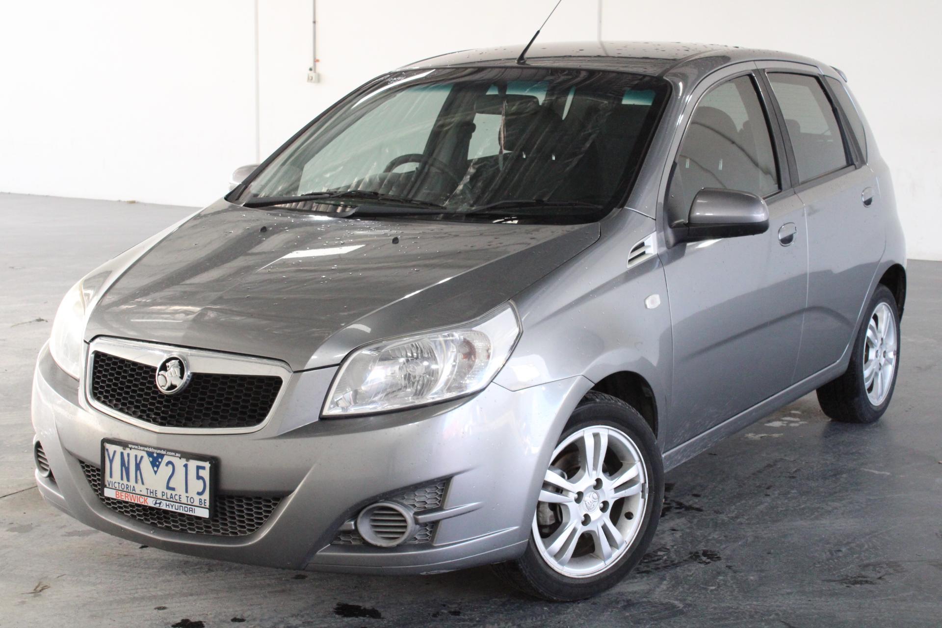 2011 Holden Barina TK Automatic Hatchback