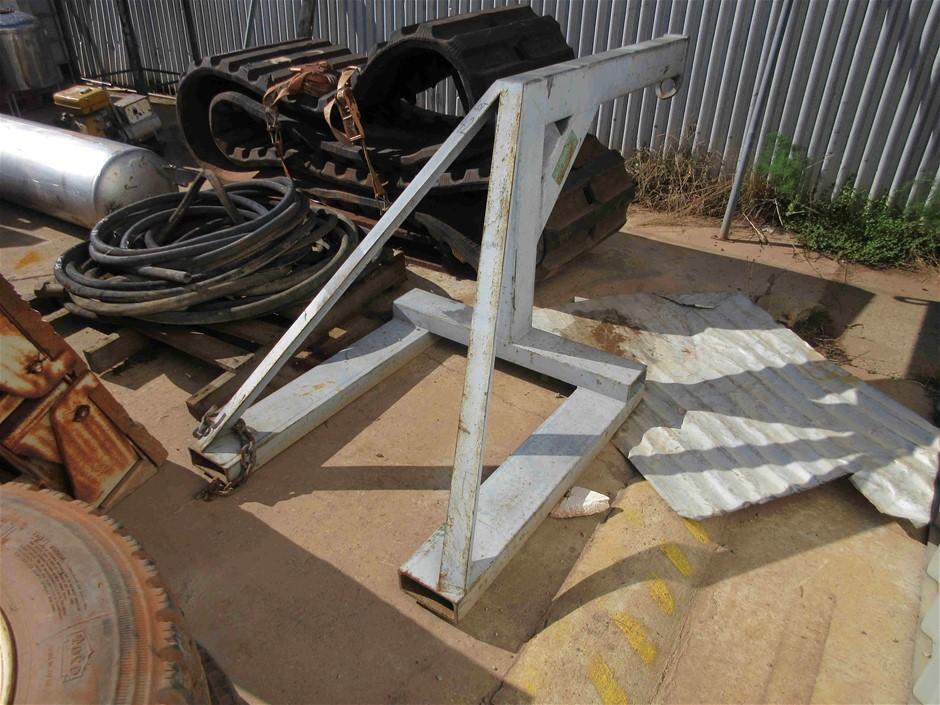 Forkliftable Crane Jib