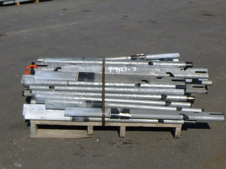 Pallet of Cable Barrier Post