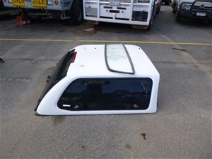 White Ute Canopy with Windows