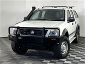 Unreserved 2004 Holden Rodeo LX (4x4) RA Turbo Diesel
