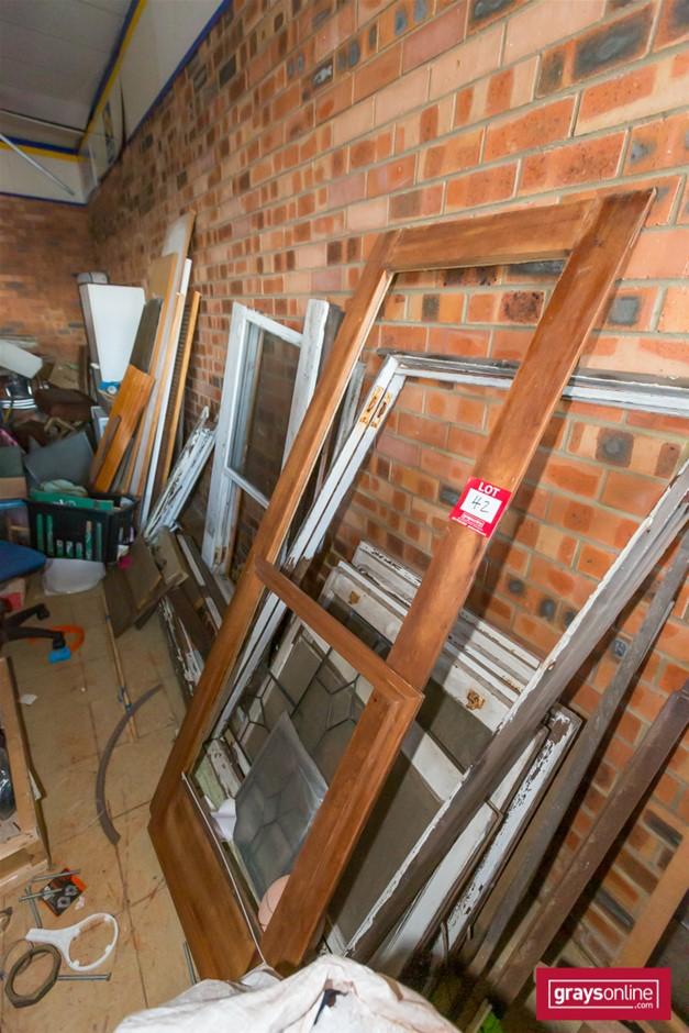 Large Quantity Timber Frame Windows