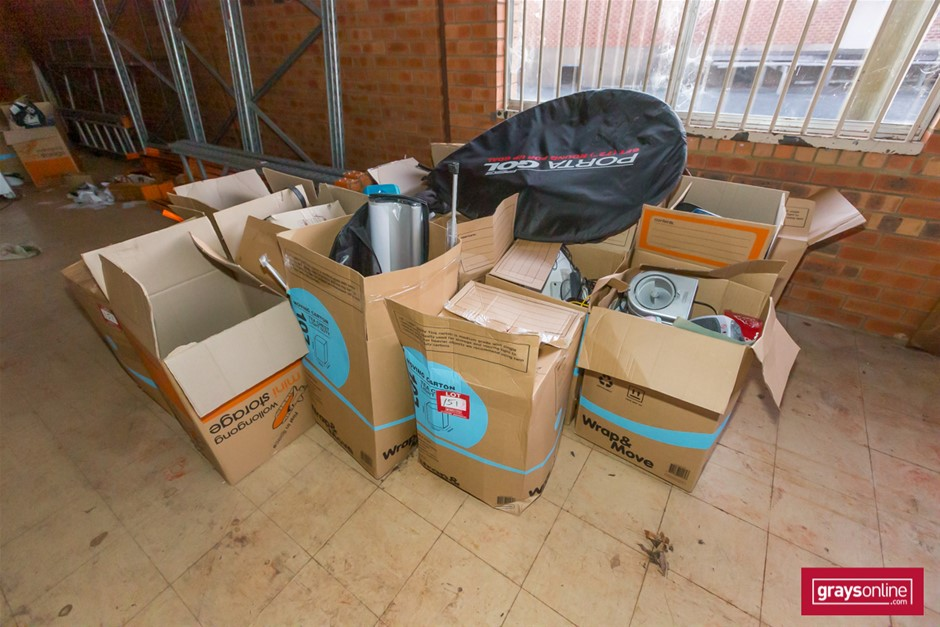 25x Assorted Boxes of House Hold Item
