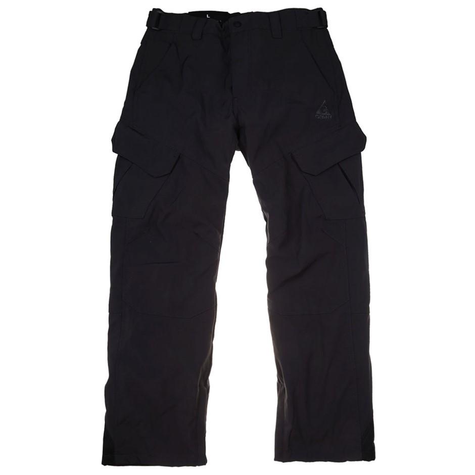 GERRY Men`s Stretch Snow Pants Size L, Bonded 4-Way Stretch, Fleece Lined &