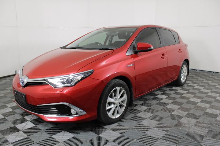 2016 Toyota Corolla Hybrid Automatic Hatchback, 83,449km(wovr)