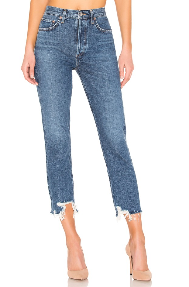 AGOLDE Riley High Rise Straight Crop. Size 25, Colour: Veto. ORP: $319 Buye