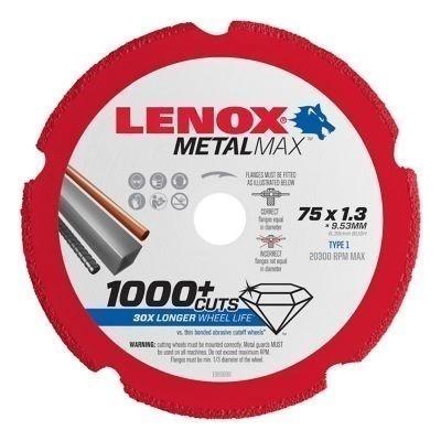 LENOX Diamond Metal Cut-Off Disc, 200 x 1.5 x 22.2mm Buyers Note - Discount