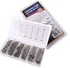 555pc Stainless Steel Cotter Pin Assortment. Sizes; See Image. Buyers Note