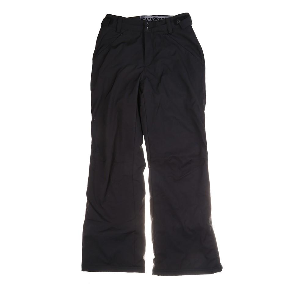 GERRY Women`s Stretch Snow Pants, Size L, Bonded 4-Way Stretch, Fleece Line